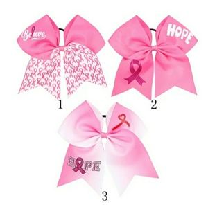 Breast Cancer Awareness Hairbows